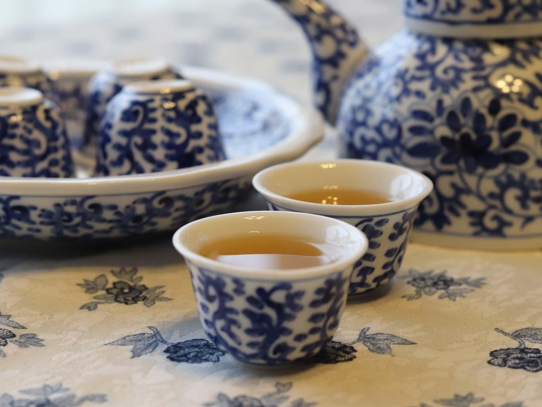 シャスミンティー お茶の教室「和漢ハーブ瀧鳳凰」